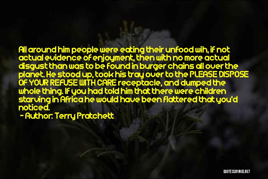 I've Been Dumped Quotes By Terry Pratchett