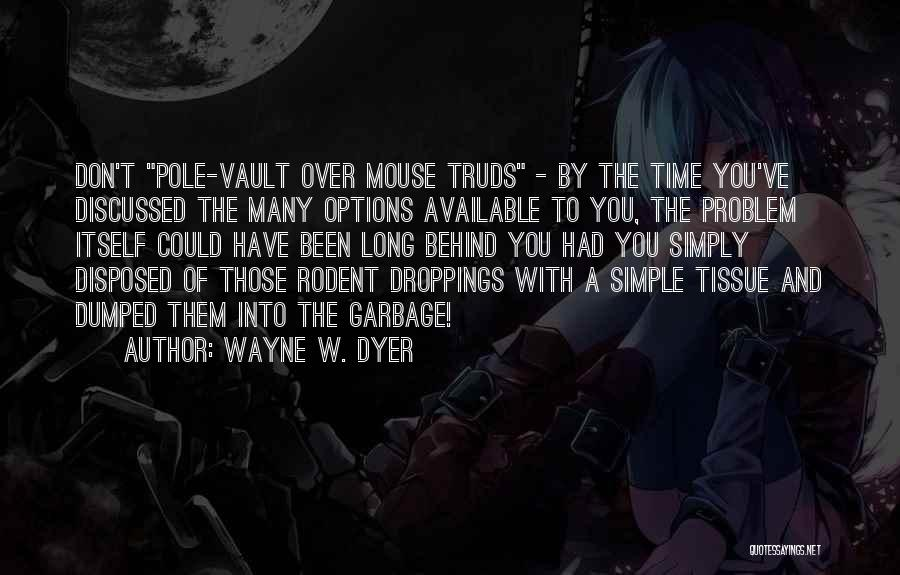 I've Been Dumped Quotes By Wayne W. Dyer