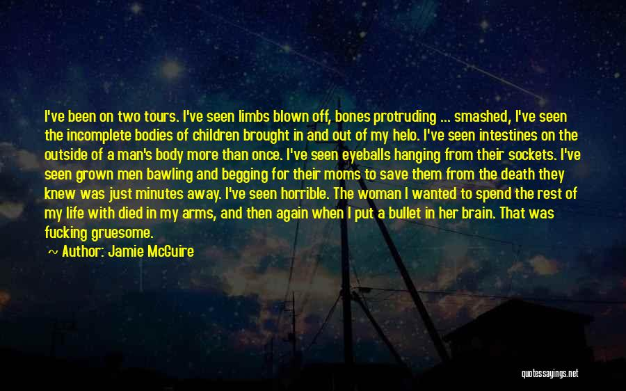 I've Grown Into A Woman Quotes By Jamie McGuire