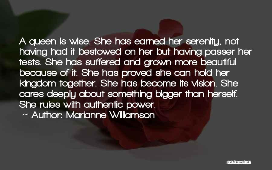 I've Grown Into A Woman Quotes By Marianne Williamson