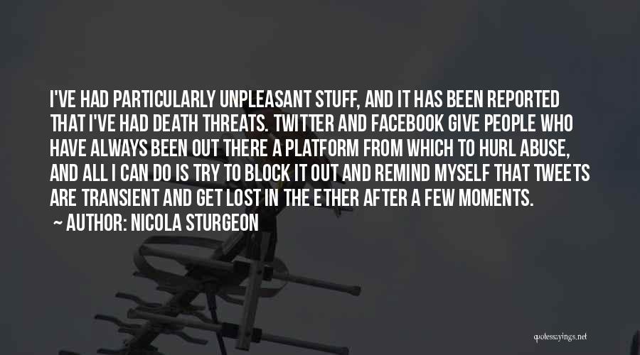 I've Lost Myself Quotes By Nicola Sturgeon