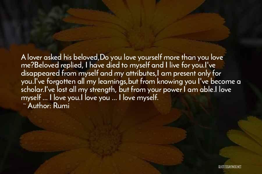 I've Lost Myself Quotes By Rumi