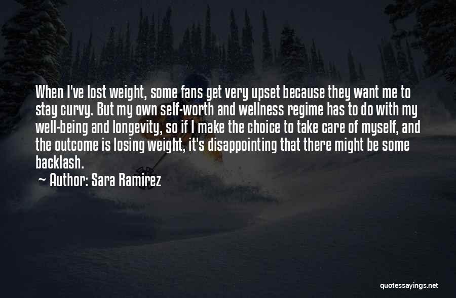 I've Lost Myself Quotes By Sara Ramirez