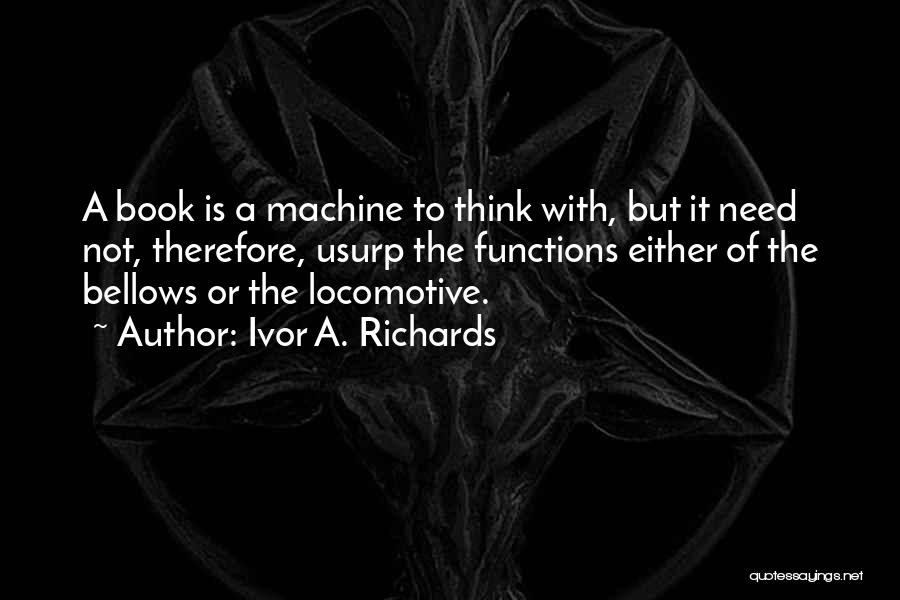 Ivor A. Richards Quotes 1891393