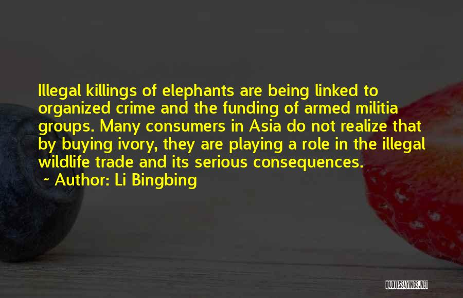 Ivory Trade Quotes By Li Bingbing