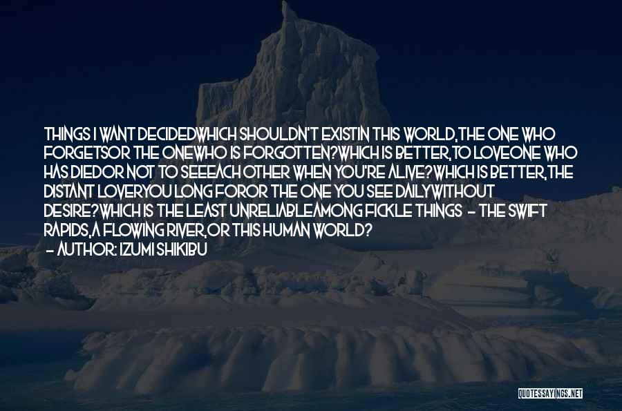 Izumi Shikibu Quotes 153666