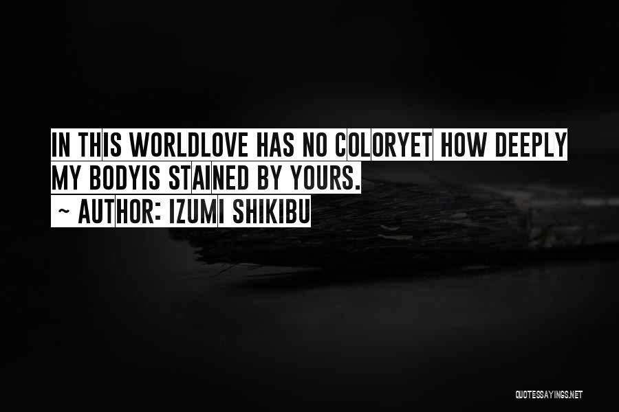 Izumi Shikibu Quotes 255384
