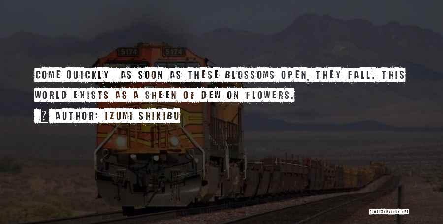 Izumi Shikibu Quotes 401876