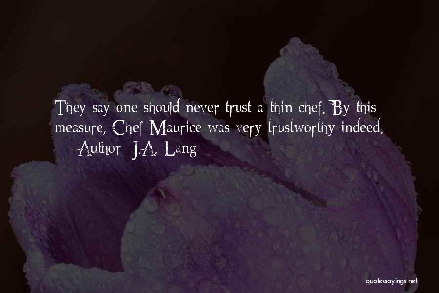 J.A. Lang Quotes 448898
