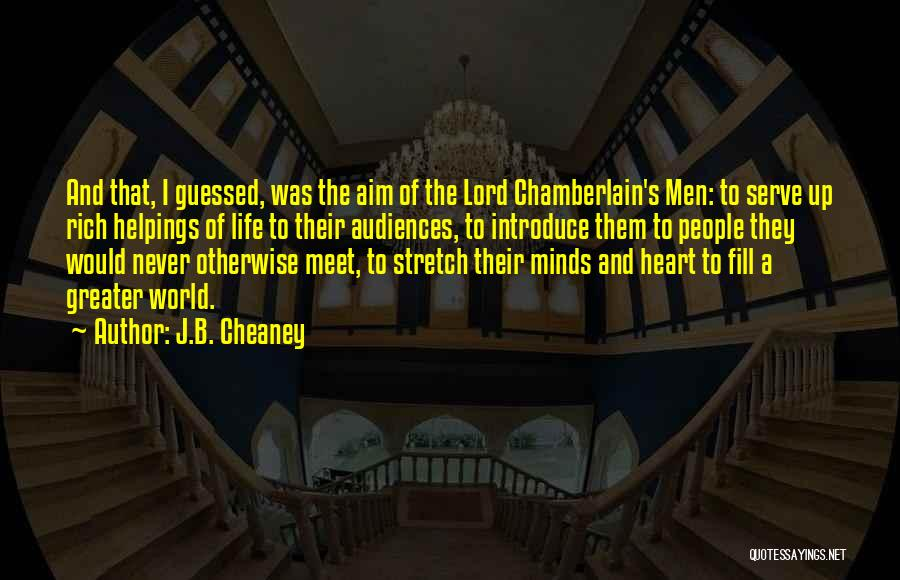 J.B. Cheaney Quotes 1392056