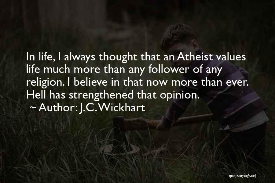 J.C. Wickhart Quotes 1071165