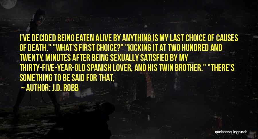J.D. Robb Quotes 270825