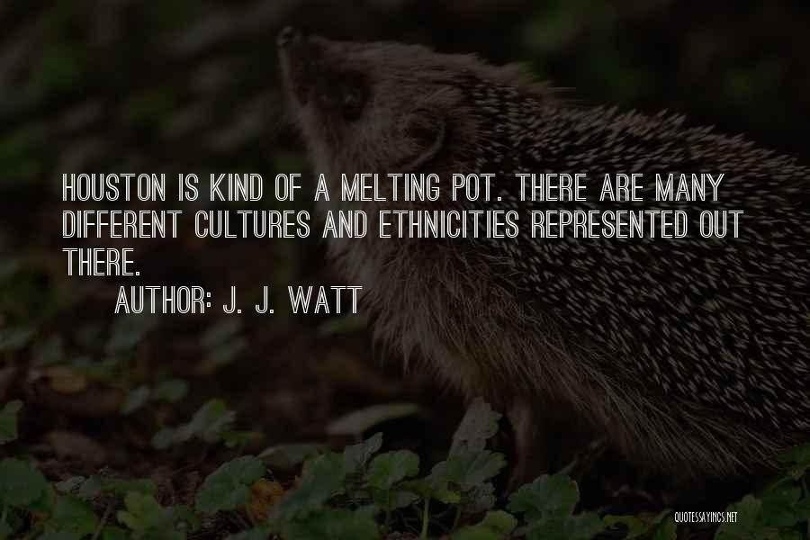 J. J. Watt Famous Quotes & Sayings