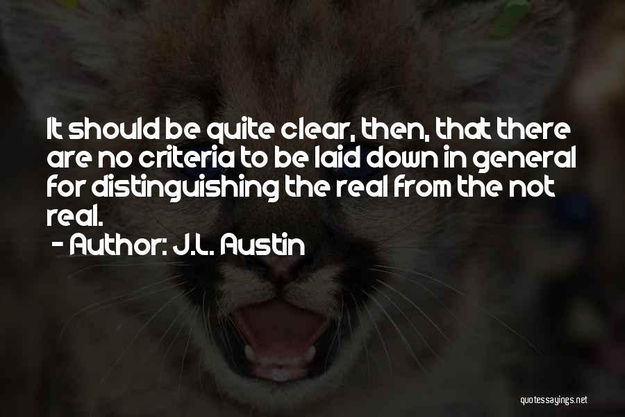 J.L. Austin Quotes 1063758