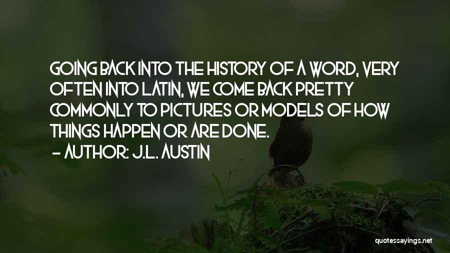 J.L. Austin Quotes 1739886