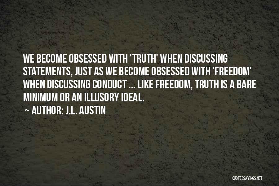 J.L. Austin Quotes 1741004