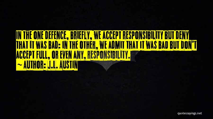J.L. Austin Quotes 1835167
