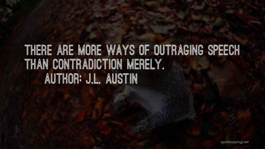 J.L. Austin Quotes 347950