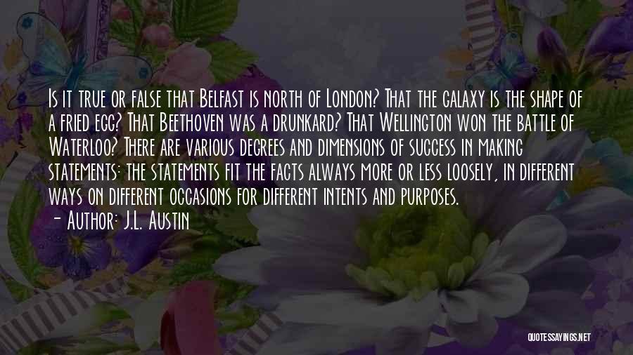 J.L. Austin Quotes 546226