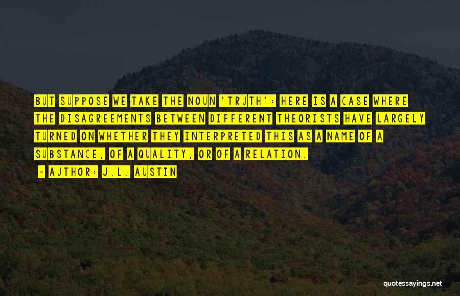 J.L. Austin Quotes 555019