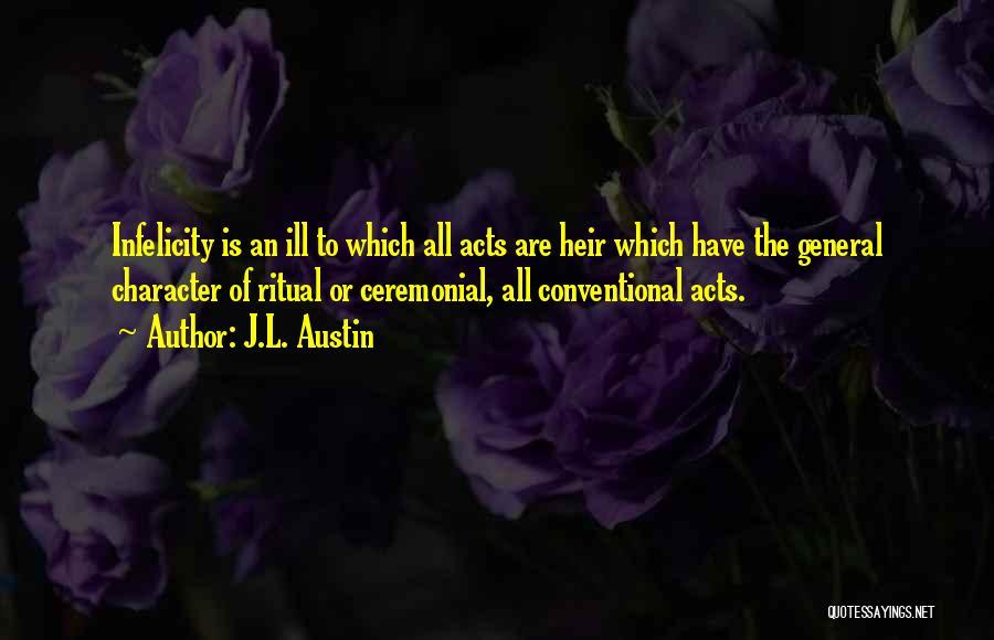 J.L. Austin Quotes 628381