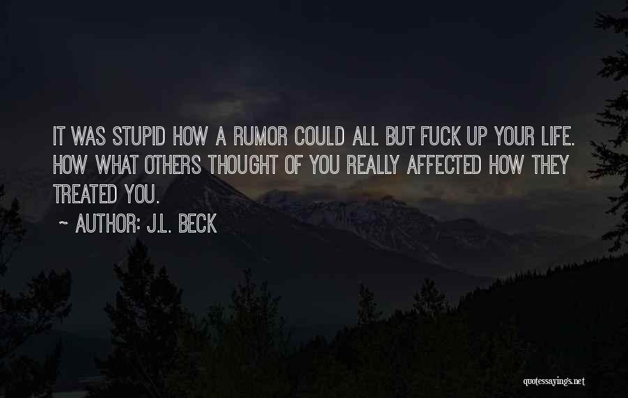 J.L. Beck Quotes 192065