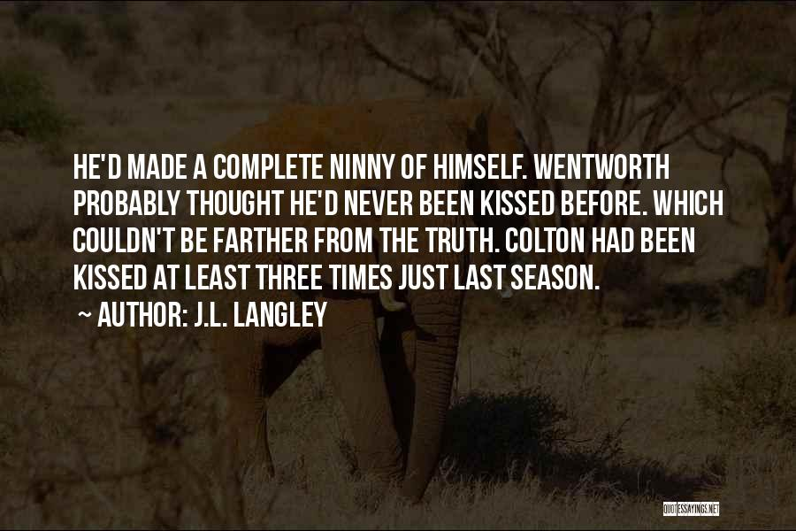 J.L. Langley Quotes 278134