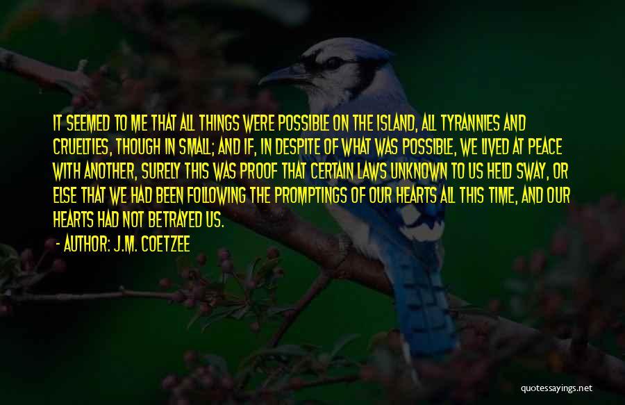 J.M. Coetzee Quotes 1557328