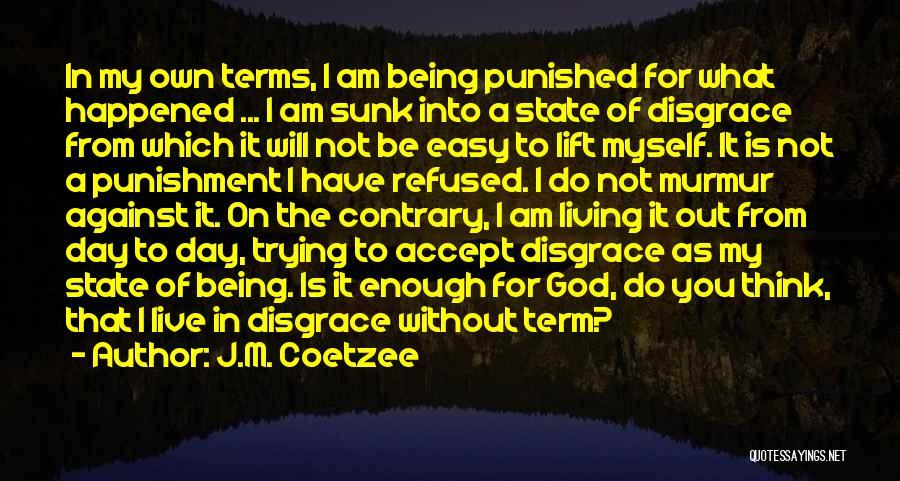 J.M. Coetzee Quotes 1772618