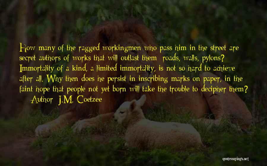 J.M. Coetzee Quotes 1791208