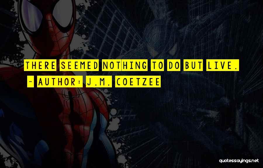 J.M. Coetzee Quotes 2053720