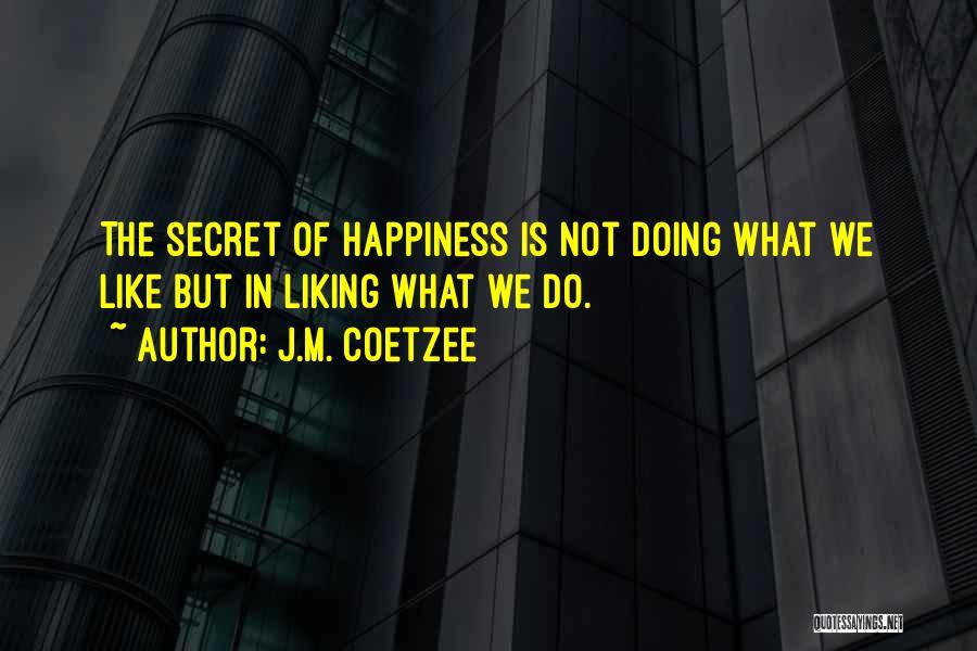 J.M. Coetzee Quotes 482364