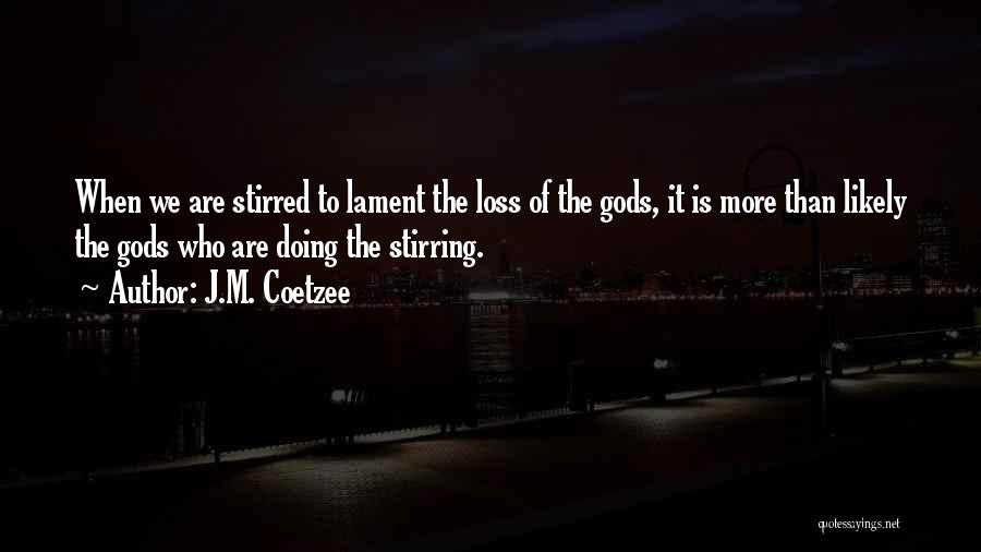 J.M. Coetzee Quotes 883461