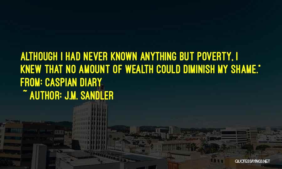 J.M. Sandler Quotes 98200