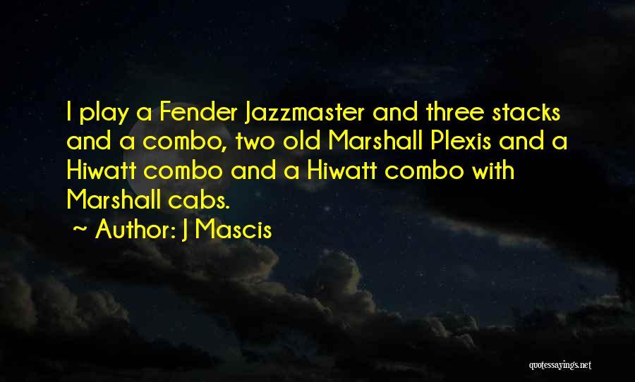 J Mascis Quotes 198841