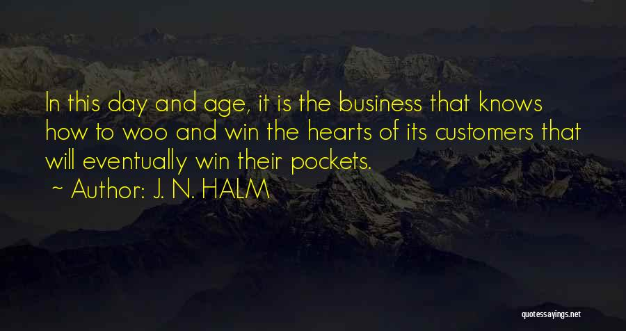 J. N. HALM Quotes 1320432