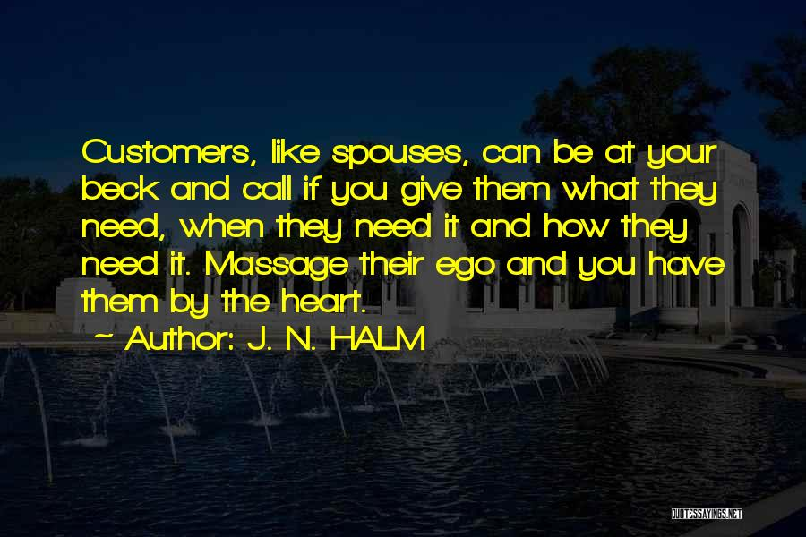 J. N. HALM Quotes 802372