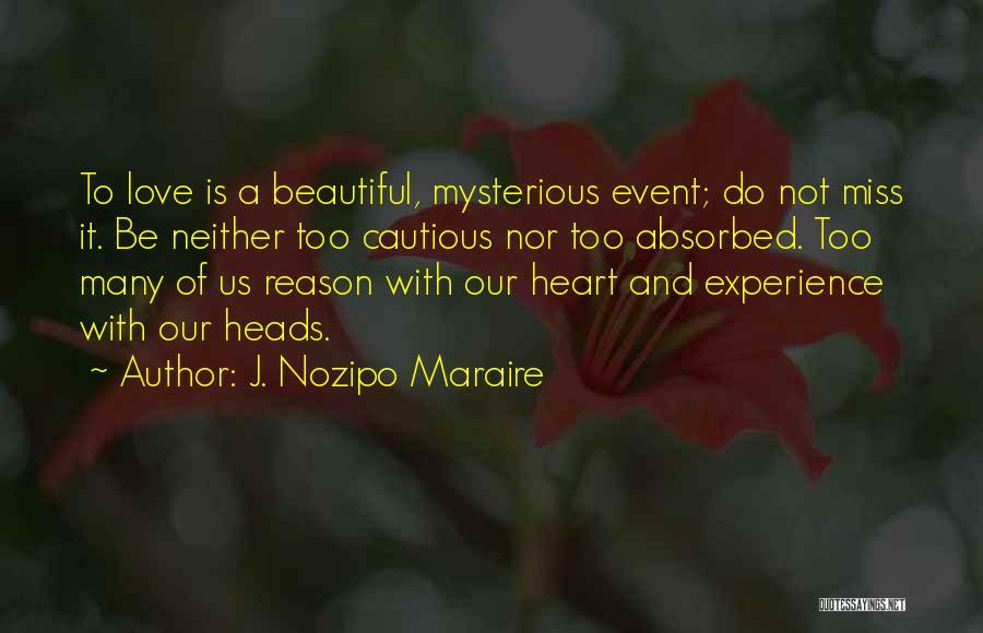 J. Nozipo Maraire Quotes 1227857