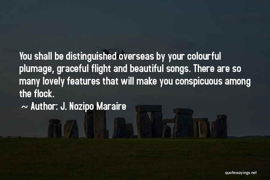 J. Nozipo Maraire Quotes 492976