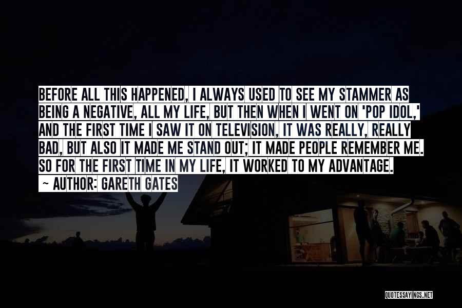 J Pop Idol Quotes By Gareth Gates