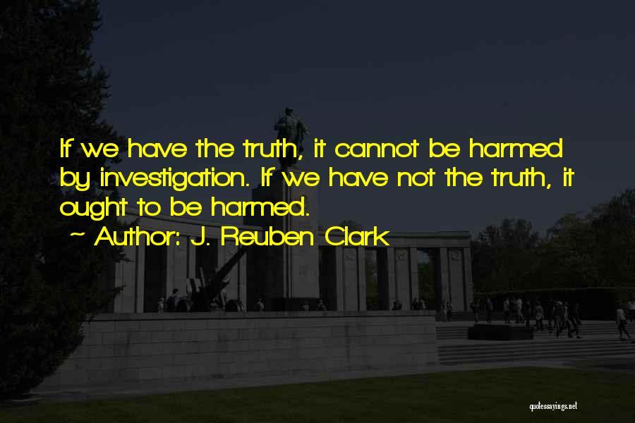 J. Reuben Clark Quotes 1833271