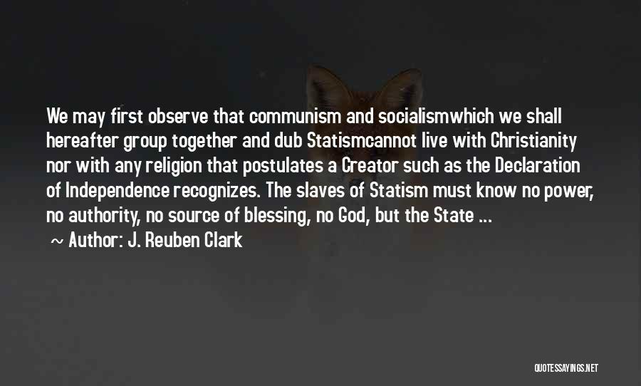 J. Reuben Clark Quotes 474730
