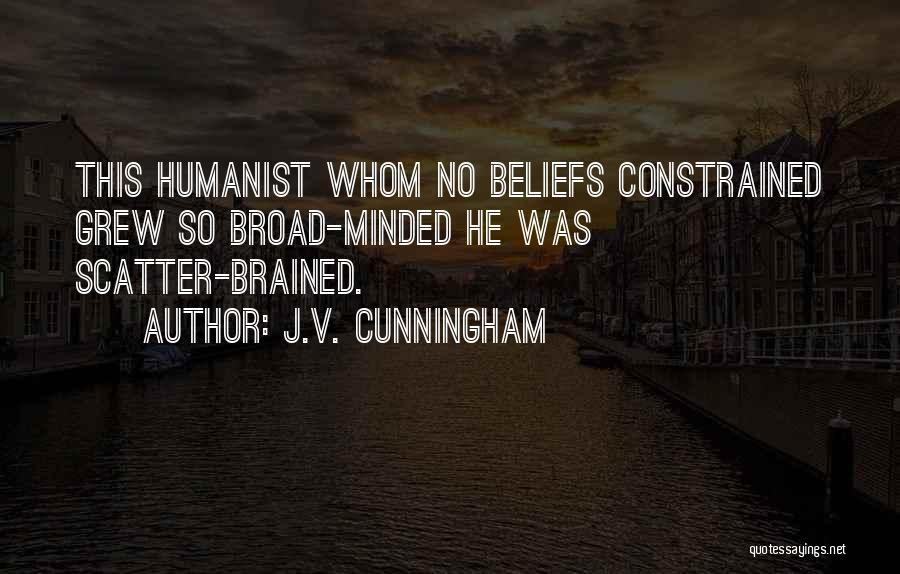 J.V. Cunningham Quotes 82424