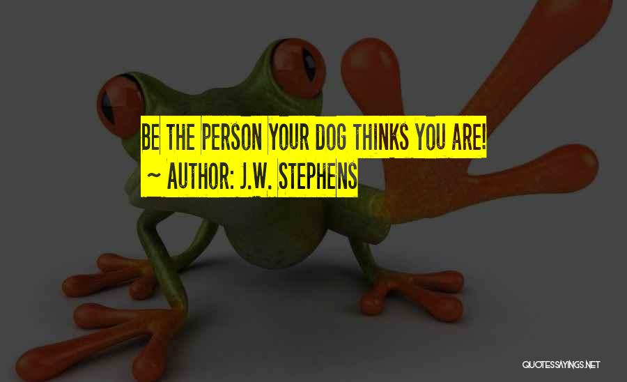 J.W. Stephens Quotes 2063844