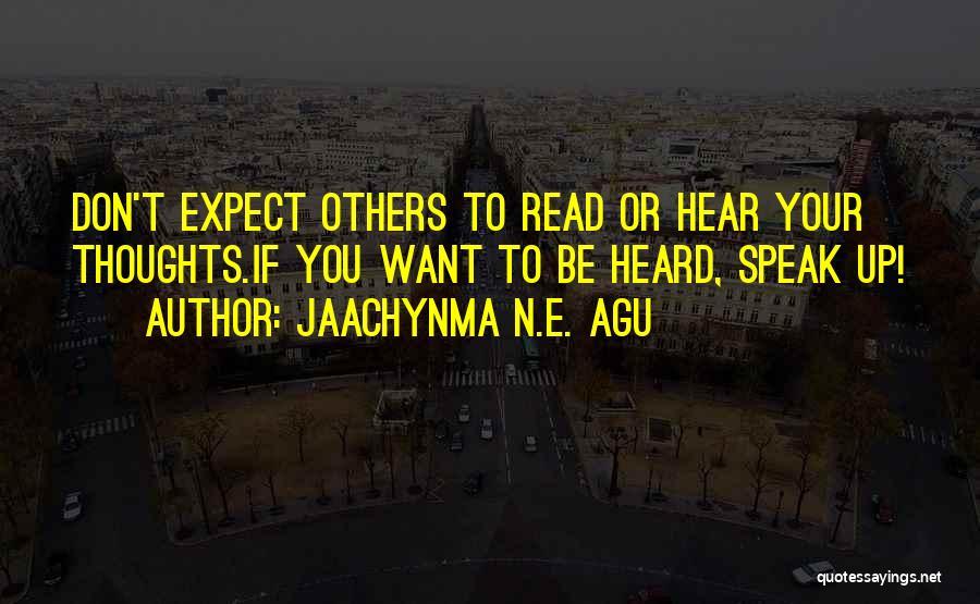 Jaachynma N.E. Agu Quotes 1025260