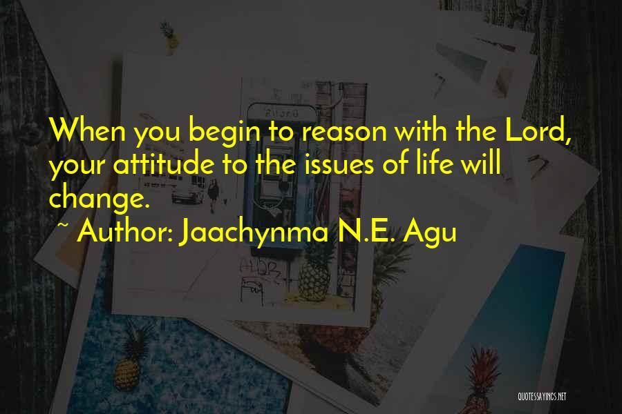 Jaachynma N.E. Agu Quotes 244926