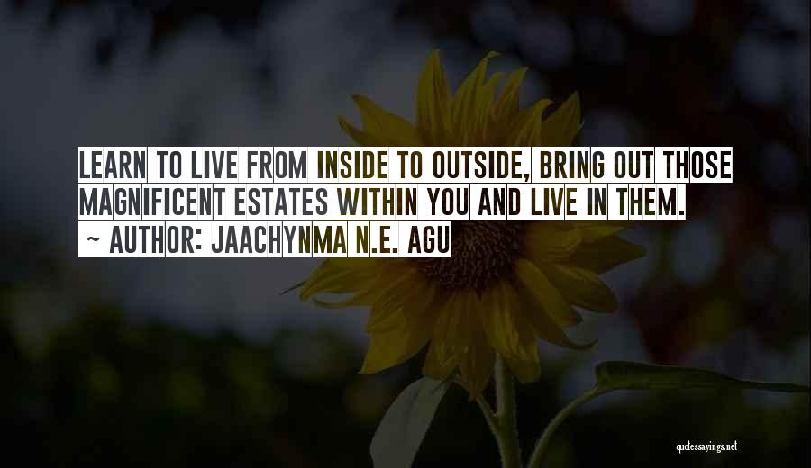 Jaachynma N.E. Agu Quotes 750555