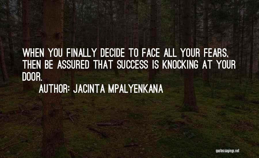 Jacinta Mpalyenkana Quotes 267186