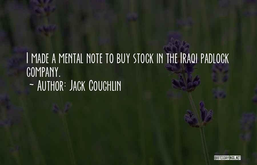 Jack Coughlin Quotes 911650