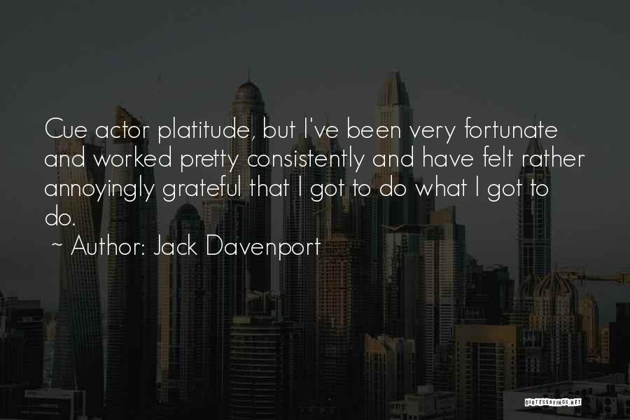 Jack Davenport Quotes 1121142
